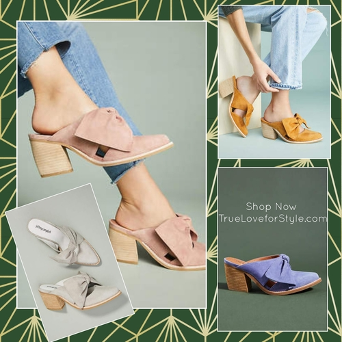 Spring Is Here: Bow Mules